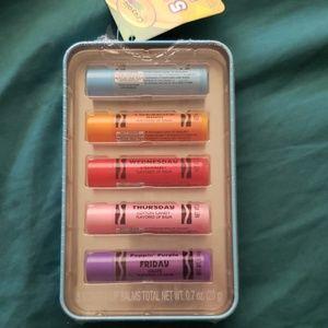 Crayola-5 days of the week lip balm